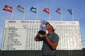 US Open Golf Brooks Koepka AP