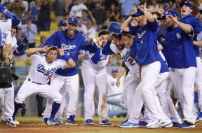 Dodgers win in 10 over Brewers AP