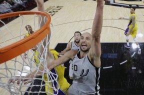 Spurs Manu Ginobli AP