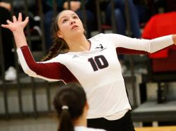 Viterbo Volleybal Miah Garant. PHOTO: ViterboAthletics.com