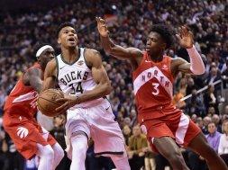 Giannis v Raptors AP