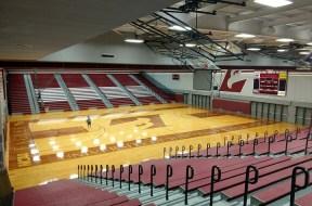 UWL Mitchell Hall Basketball court