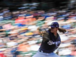 Mariners Brewers Baseball