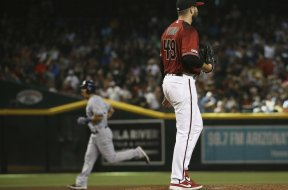 Diamondbacks Young Brewers Saladino AP