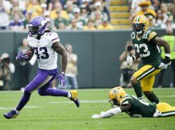 Vikings Dalvin Cook v Packers AP