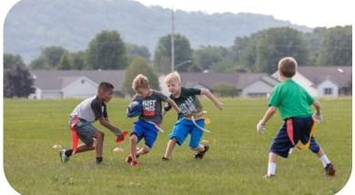 Youth YMCA flag football