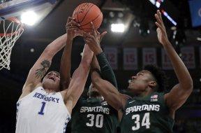 Kentucky Nate Sestina Michigan State Marcus Bingham Julius Marble AP