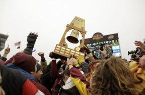 Minnesota football Gophers celebrate AP