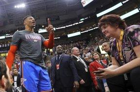 Jazz taunting Westbrook AP