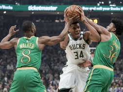 Bucks Giannis Celtics Smart Walker AP