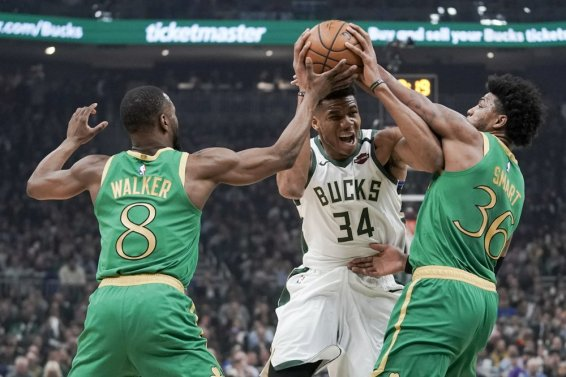 Bucks Giannis Celtics Smart Walker AP
