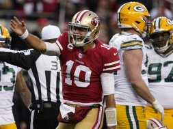 Niners Jimmy Garoppolo NFC Packers AP