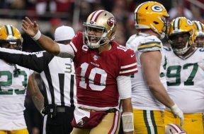 Niners Jimmy Garoppolo NFC Packers AP