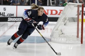 USA women hockey Kendall Coyne Schofield AP