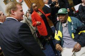 Packers Willie Wood AP
