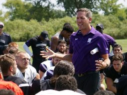 Northwestern Athletic Director Lindley AP