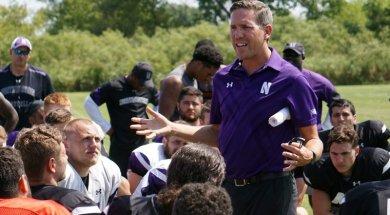 Northwestern Athletic Director Lindley AP