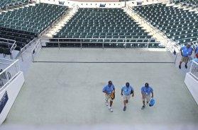 Twins Minnesota stadium workers AP