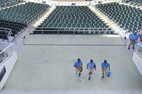 Twins Minnesota stadium workers AP