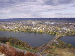 Winona from bluff