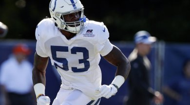 Colts Darius Leonard AP