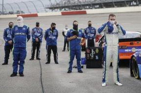 NASCAR National Anthem masks AP