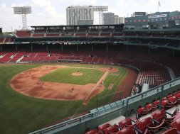 Boston Red Sox Fenway fans AP