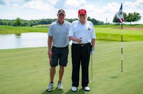 Trump Favre White House