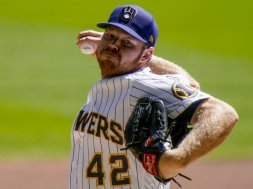 Brewers Brandon Woodruff face AP