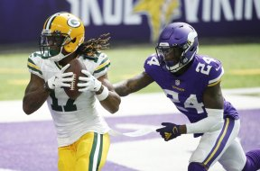 Vikings Hill Packers Adams AP