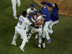 Dodgers celebrate AP