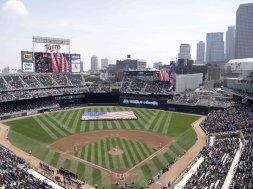 Target Field Twins Minnesota AP