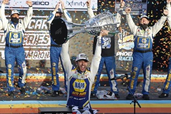 Chase Elliott win AP
