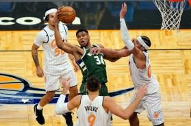 Bucks Magic Basketball