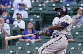 Lorenzo Cain HR Brewers