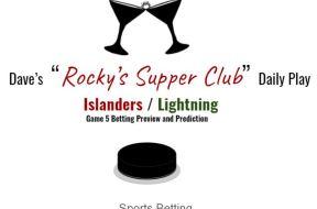 islanders lighting game 5