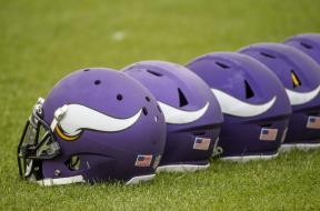 Minnesota Vikings helmets AP