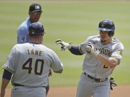 Willy Adames celebrate AP