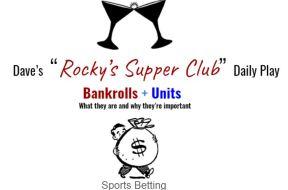 bankrolls and units