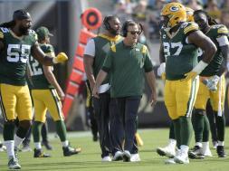 Packers coach Joe Barry AP