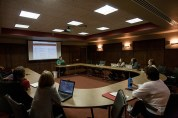 Participants in a WKU Faculty Professional Learning Community made their final presentations on Nov. 4.
