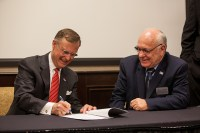 WKU signed a Construction Partnership Program with Kentucky's Labor Cabinet on March 30.
