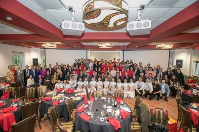 The Confucius Institute hosted a dinner on May 5.