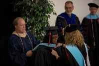 The Organizational Leadership program hosted a graduation event on May 12.