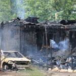 The cause of this house fire on 200 N. east of 900 E. in Grovertown remains under investigation.