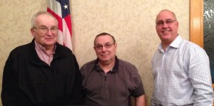 Pulaski County Commissioners (L to R) Bud Krohn, Jr., Terry Young and Larry Brady