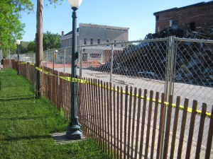 sportsmans chain link fence