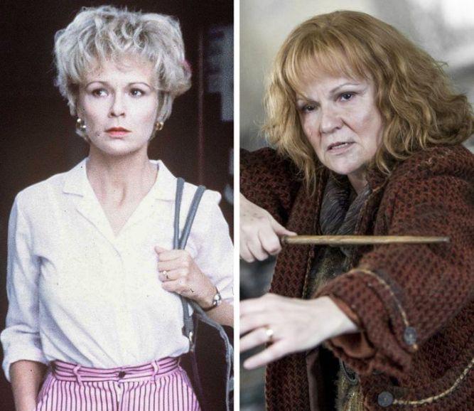 Julie-Walters-gencligi-harry-potter-oyuncularinin-genclik-rolleri