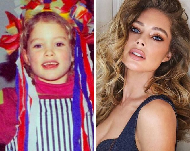 What 10 Famous Models Looked Like When They Were Kids