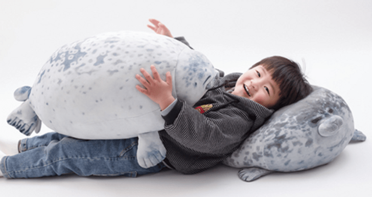 there are squishy chubby pillows that